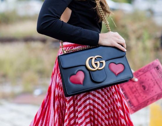 gucci bags australia. gucci bag and pleated skirt - street style photo from vogue australia bags