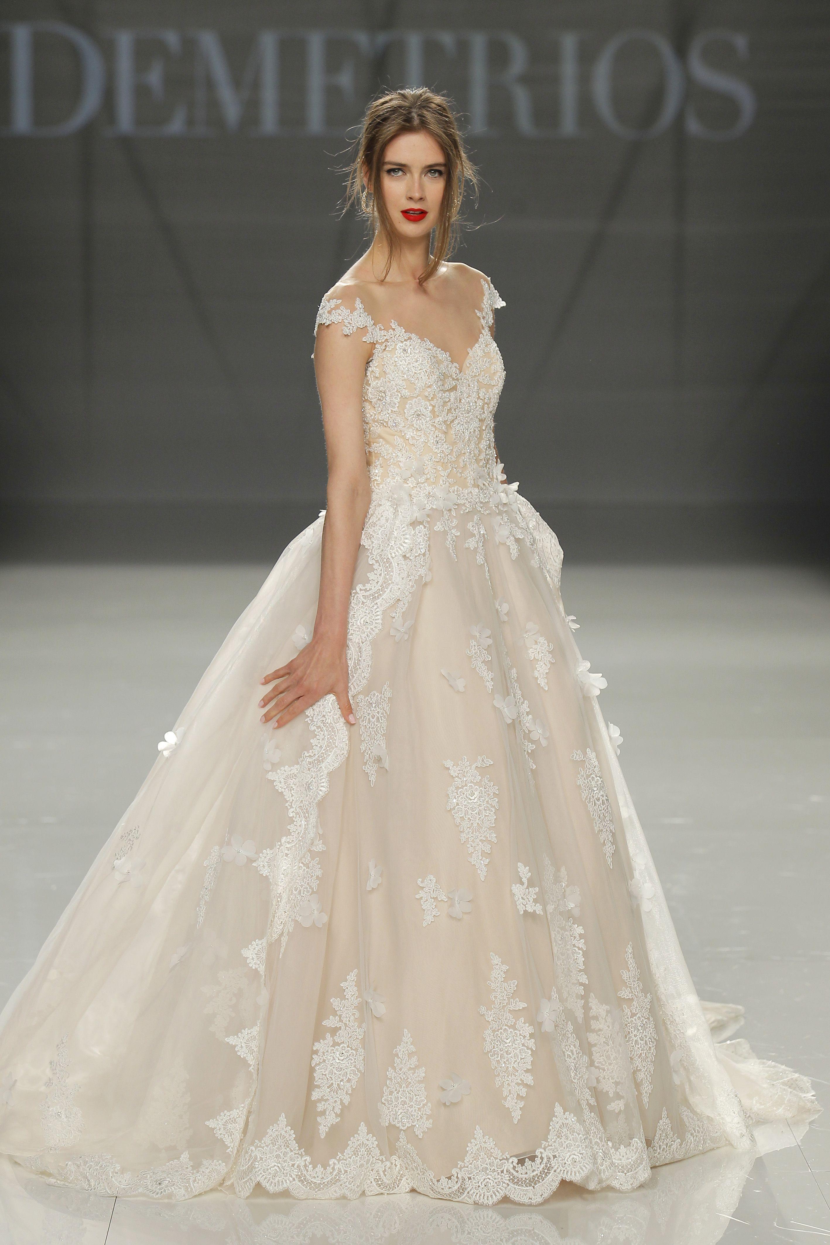 Vestido de novia de demetrios dmt wedding boda bodasnet