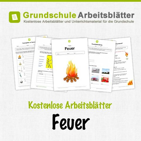 Kostenlose Arbeitsblätter Feuer | deutsch | Pinterest | kostenlose ...