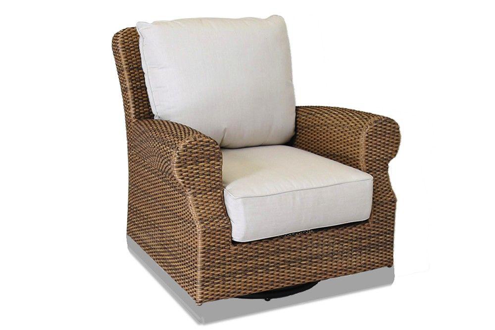 Wicker Swivel Chair Rocker Patio Rocking Chairs Rattan Furniture Outdoor
