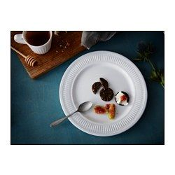 IKEA - SANNING, Plate, Made of tempered glass, which makes the plate durable $1.95