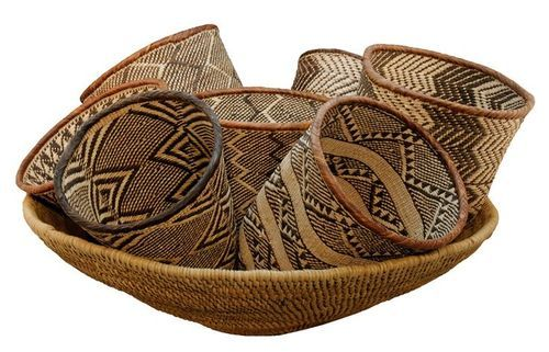 Batonga baskets, Zimbabwe (With images) | African home ...