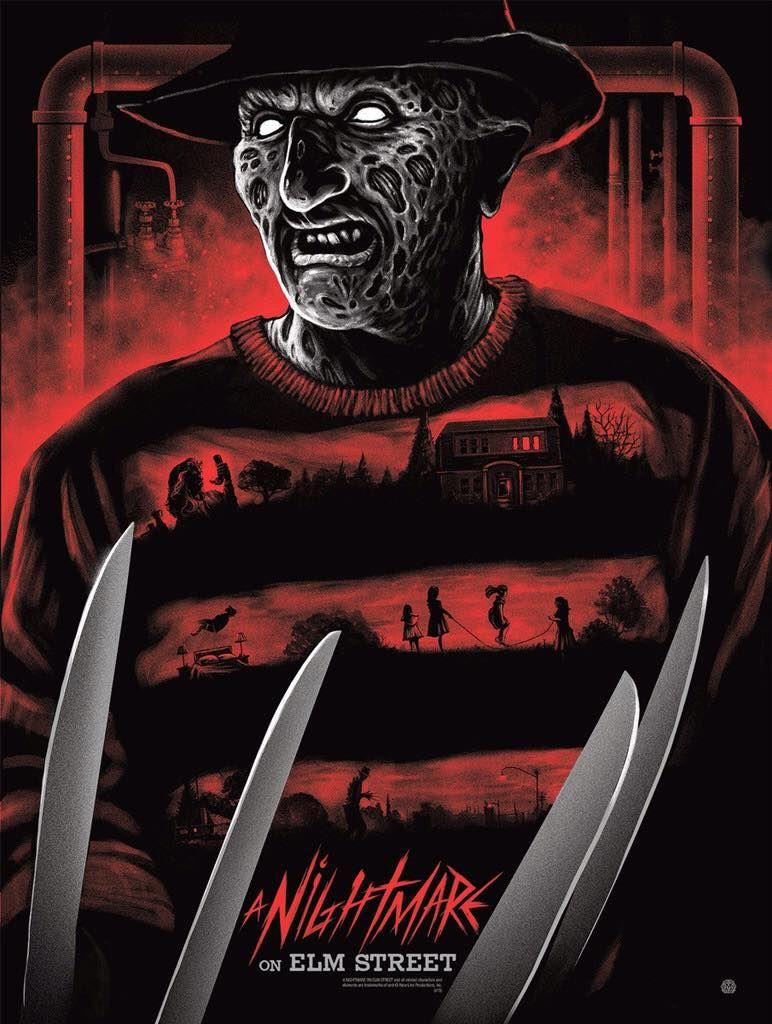 A Nightmare On Elm Street 1984 By Gary Pullin Hd Wallpaper From