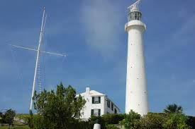 Gibbs Hill Lighthouse-built in 1846, made from cast iron