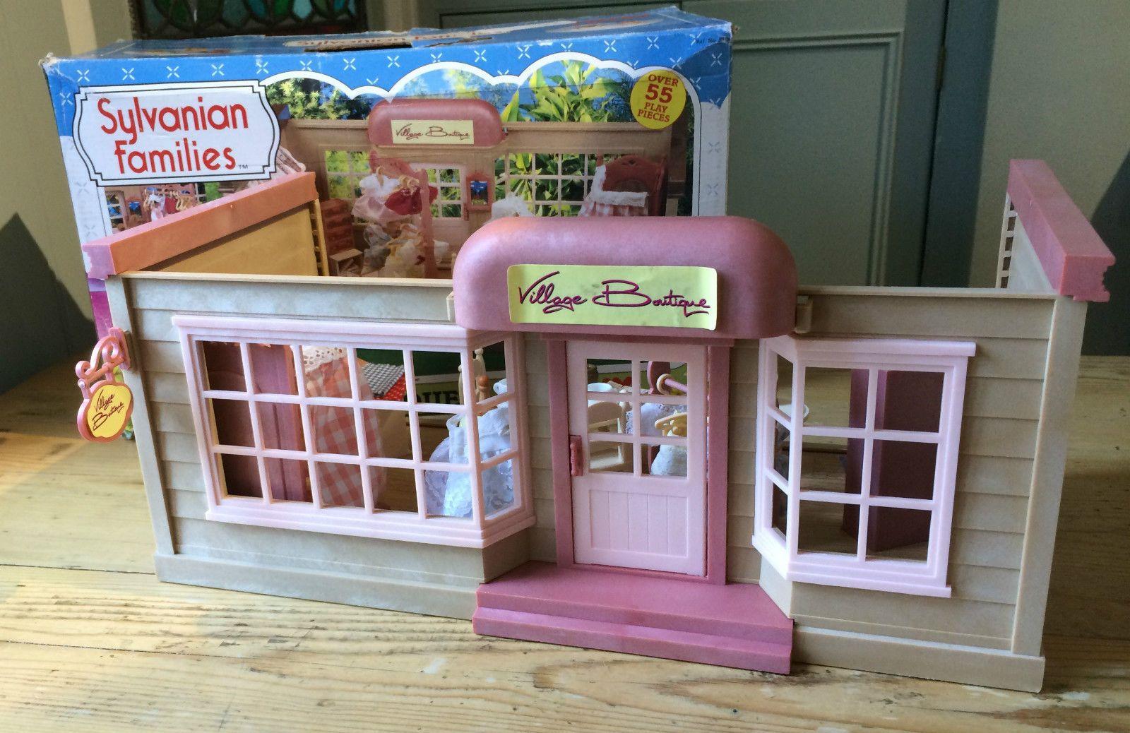 Vintage Tomy Sylvanian Families Village Boutique - boxed