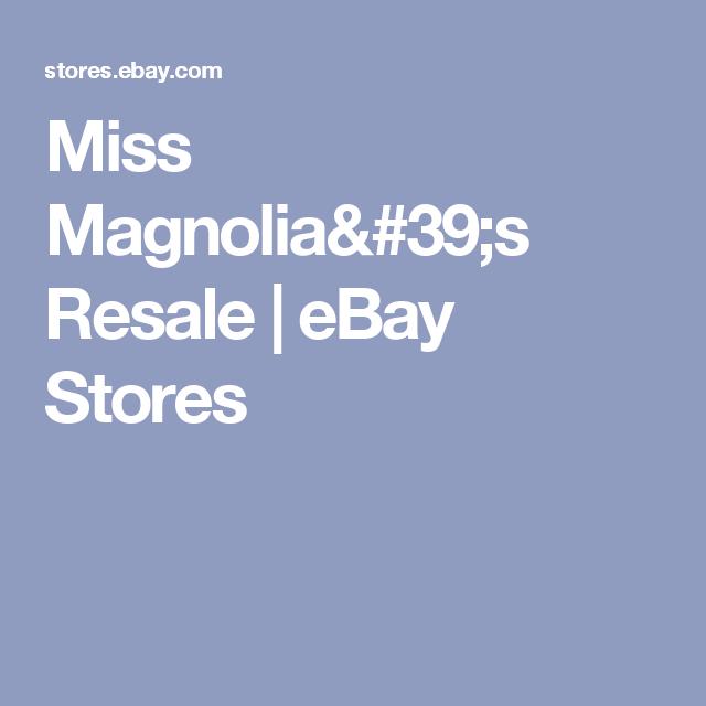 Miss Magnolia 39 S Resale Ebay Stores Plus Size Outfits Magnolia Ebay