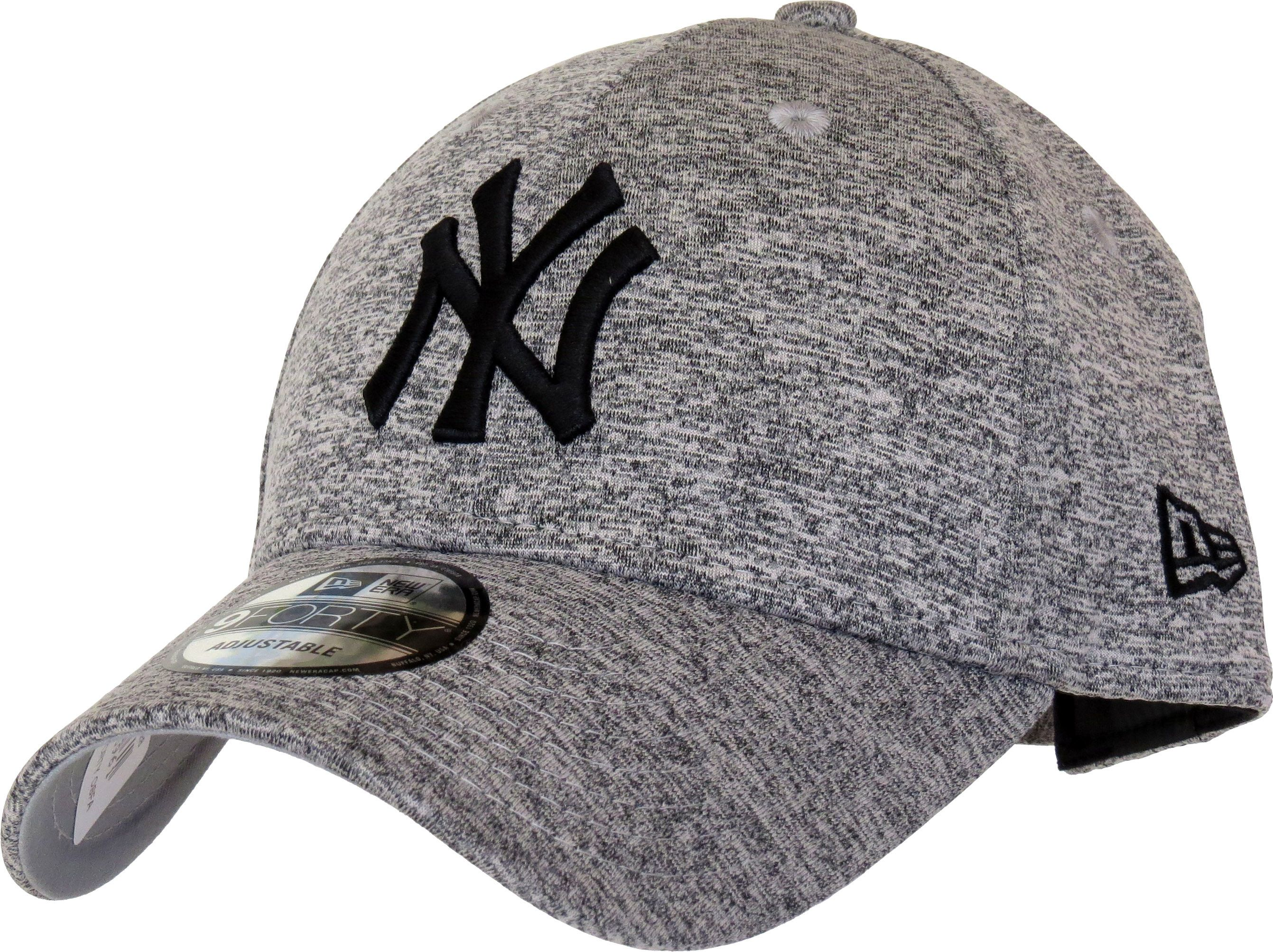 New Era 9Forty New York Yankees Tech Jersey Adjustable Baseball Cap. Jersey  Grey with the 848fe5a3ace