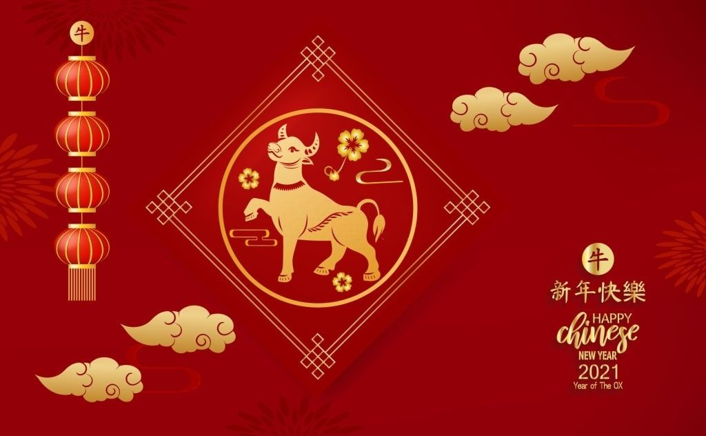 Happy Chinese New Year 2021 Wallpaper in 2020 Chinese