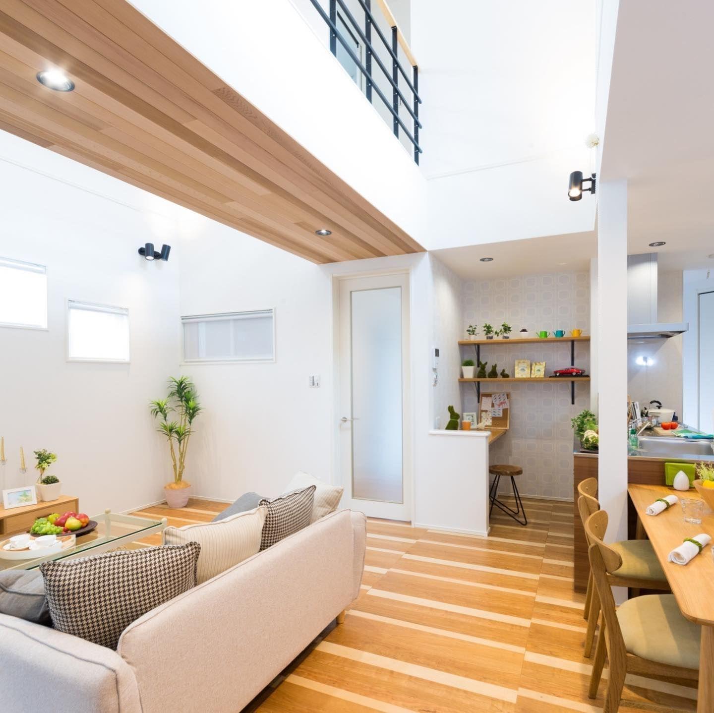 渡り廊下のあるお家 暮らしが楽しくなる施工事例 Magokoro Hikone