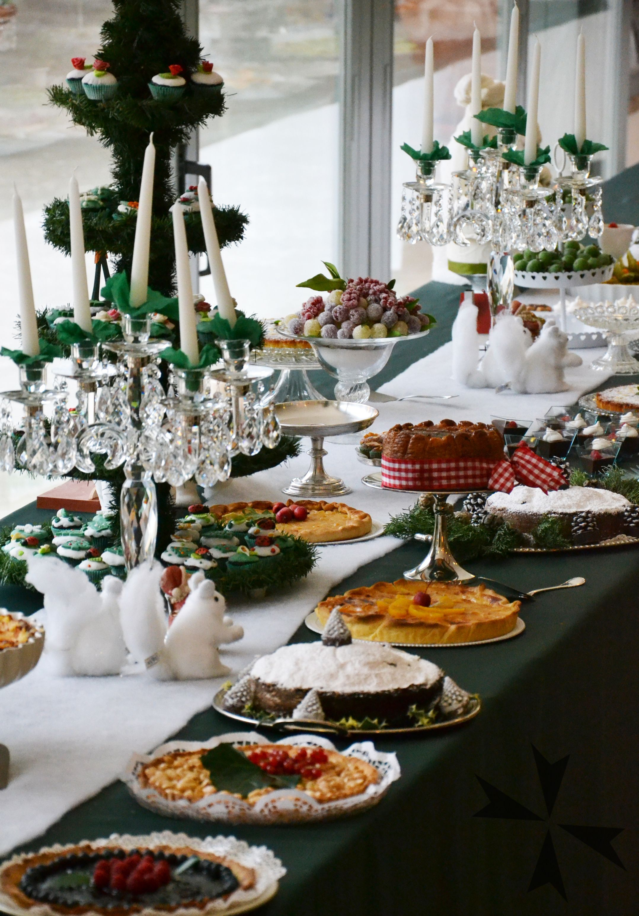 Un #buffetdiNatale davvero goloso!  A #Christmasbuffet really delicious!