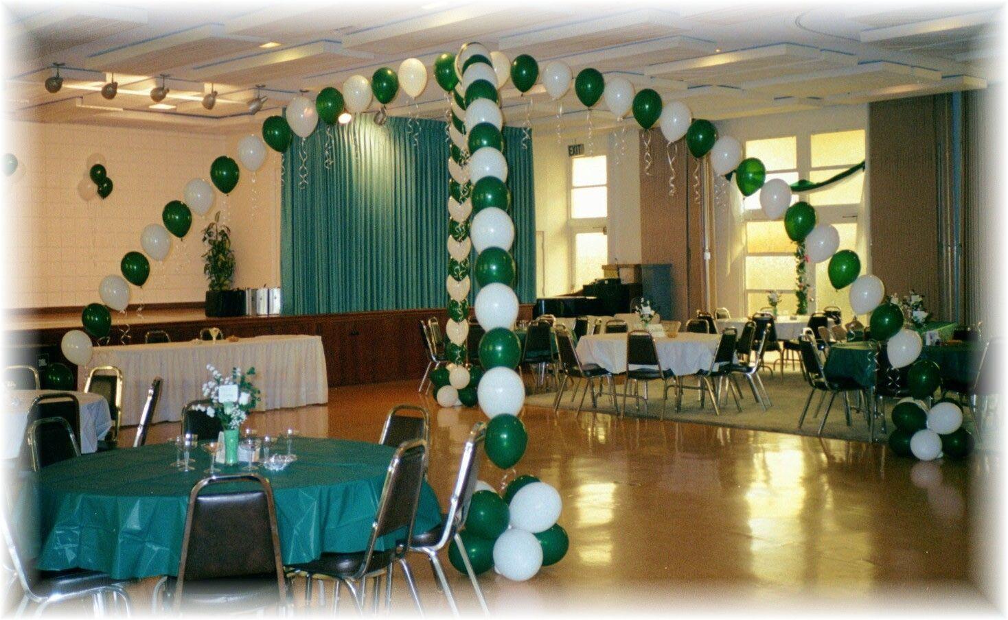 High school reunion balloon decor google search for Balloon decoration classes