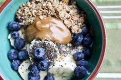 Yoga Breakfast Bowl by evepostapple: Light and nutrient dense without weighing you down.  #Breakfast_Bowl #Yoga #Healthy