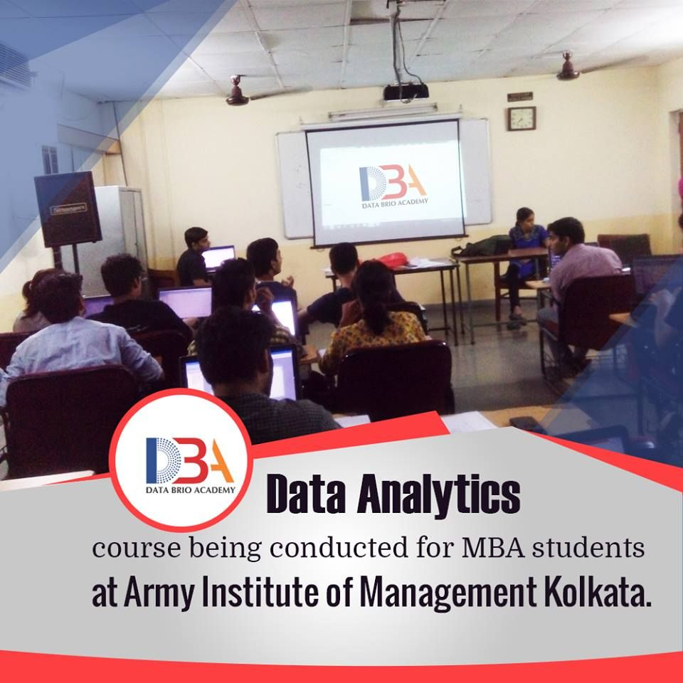Data Analytics Course Being Conducted For MBA Students At