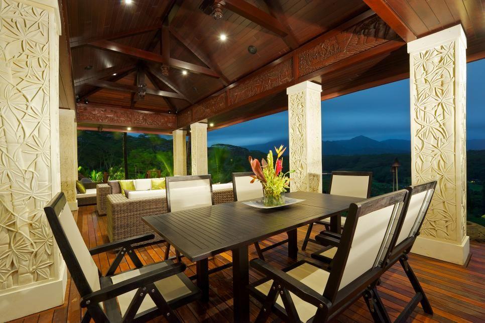 Tour a tropical waterfront estate in kilauea hawaii