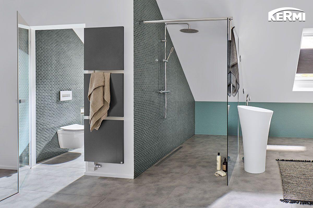 Was passt besser in ein schickes Dachbad als unser #Designheizkörper ...