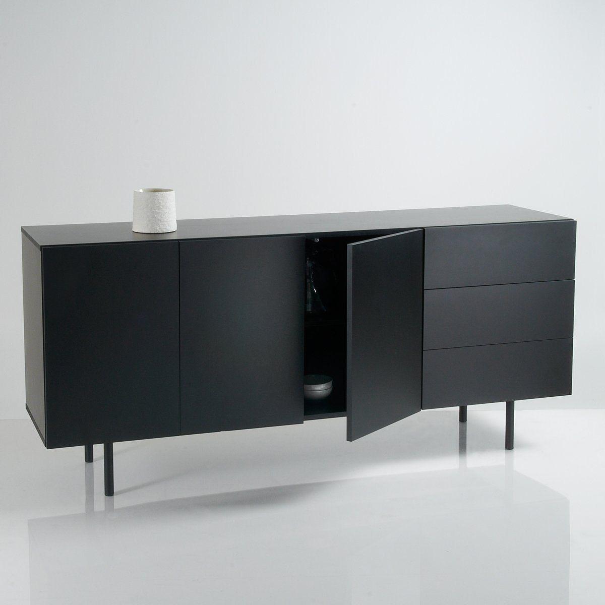 Buffet enfilade design portes tiroirs joan La Redoute