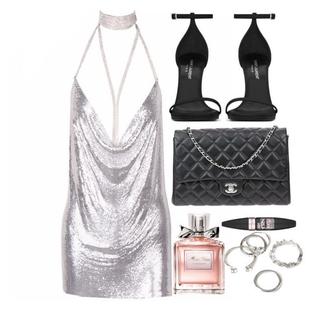 It's believed that good girls go to heaven... by przncess on Polyvore featuring polyvore, fashion, style, Yves Saint Laurent, Chanel, Forever 21, Maybelline, Christian Dior and clothing