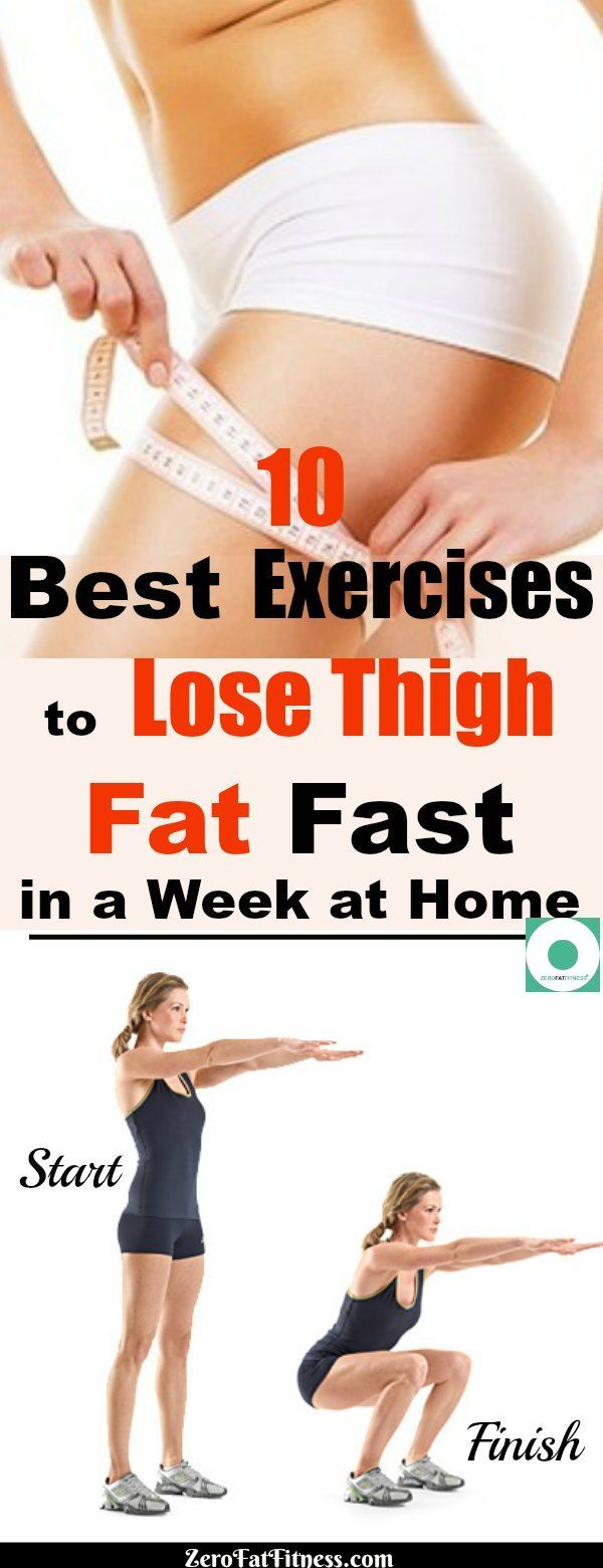 Top Five Exercises You Can Do At Home To Lose Thigh Fat - Circus