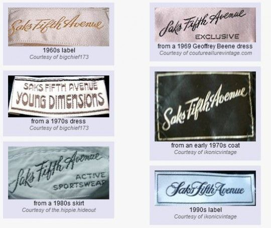 Vintage Fashion Tips How To Identify Vintage Clothing Labels Clothing Labels Vintage Outfits Vintage Clothes Women