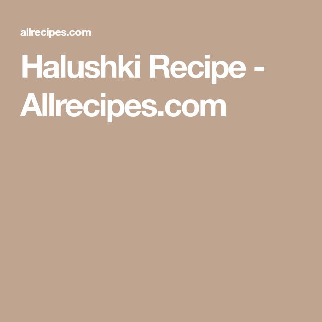 Photo of Halushki