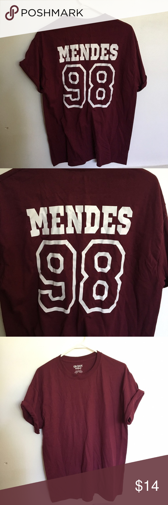 671bac739 Shawn Mendes shirt Maroon Shawn Mendes shirt.