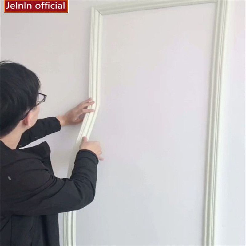 Line Anti Collision Frame Soft Line Living Room Bedroom Tv Background Wall Decoration Baseboard Self Adhesive Foam Wall Sticker Buy At The Price Of 16 19 In Tv In Bedroom Baseboards Wall