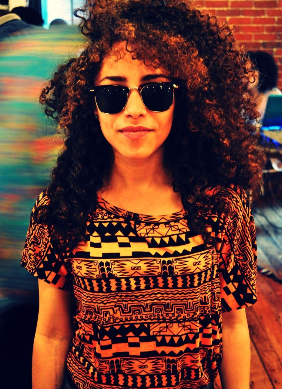 Big Curly Hair Sunglasses Tribal Print Black Curly Hair Curly Hair Styles Naturally Curly Hair Styles