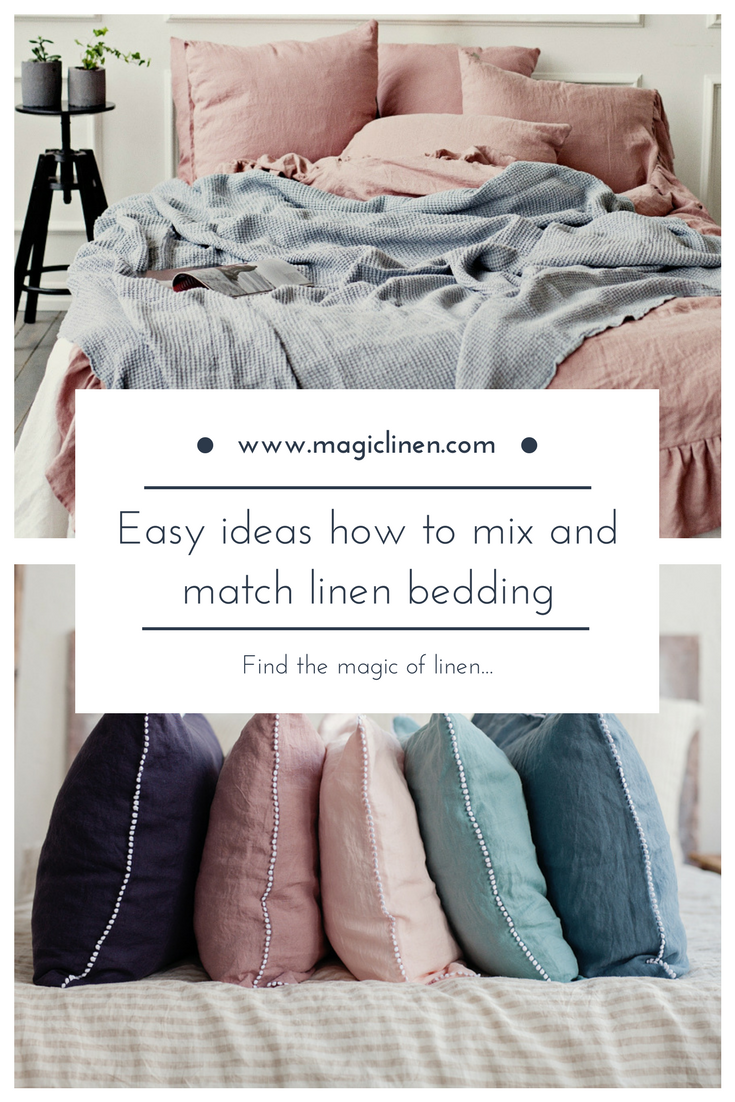 Learning How To Mix Bed Linen Colors And Textures In Bedroom Decorating Can Actually Bring Unexpected Results Find A Range Of S Bed Linens Luxury Linen Bedding