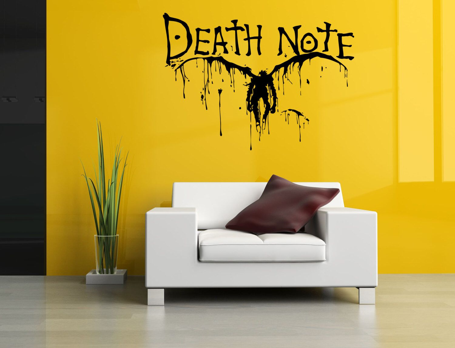 Removable Vinyl Sticker Mural Decal Wall Decor Poster Art Death Note ...