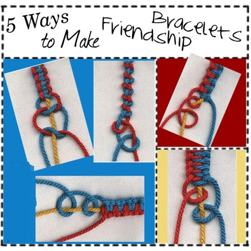 friendship bracelets patterns with instructions free