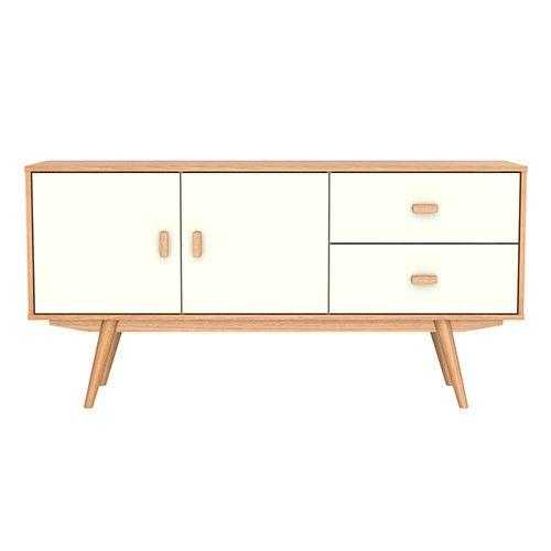 Sofia Sideboard - Scandinavian Furniture - Ash & White - Milan Direct $549 - Sofia Sideboard - Scandinavian Furniture - Ash & White - Milan