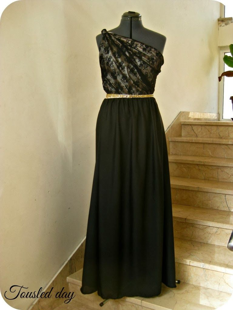 Tousled Day I Made Evening Dress And Here Is Tutorial Elegant