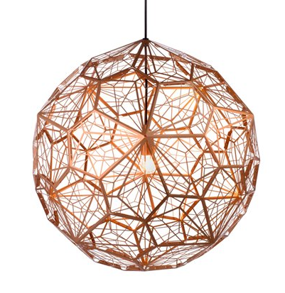 Replica tom dixon etch light web copper pendant light medium one etch light web copper by tomdixon tom dixon etch light tom dixon pendant lamp audiocablefo