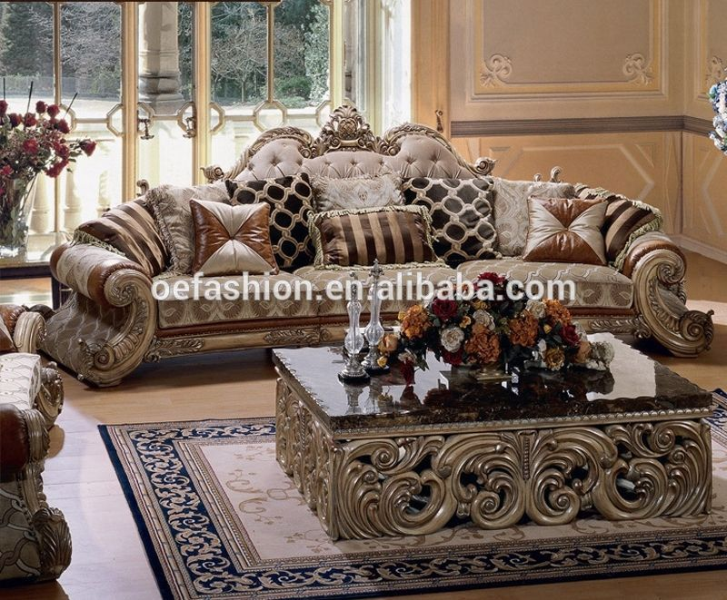 Oe Fashion Europe Style Sofa Set Royal Reproduction Living Room Furniture Vie Living Room Sets Furniture European Home Decor Living Room Sofa Design