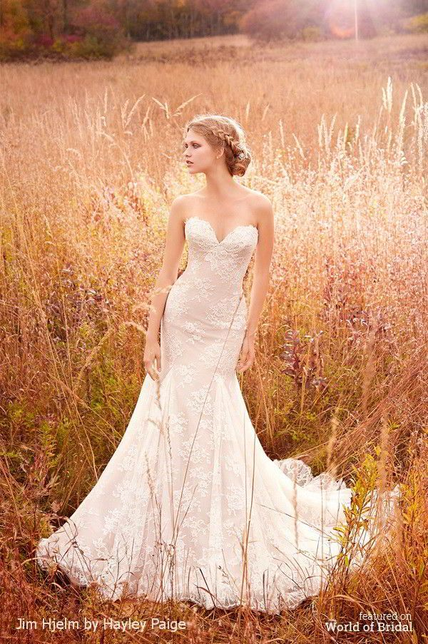 Jim Hjelm by Hayley Paige Spring 2016 Wedding Dresses JLM Couture ...