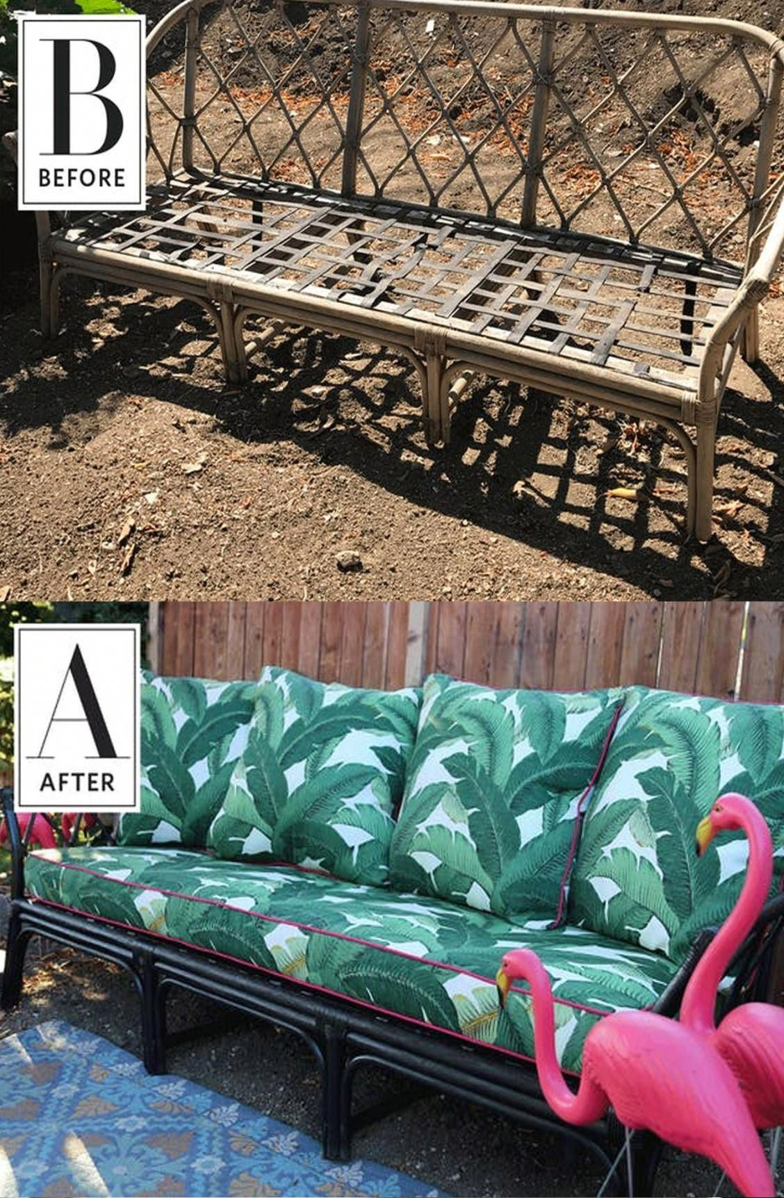 Before & After: A Sofa Found on the Street Gets a DIY ...