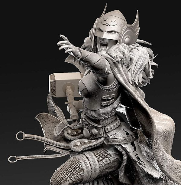 Pixologic ZBrush: View Top Row images from great ZBrush artists at ZBrushCentral.com