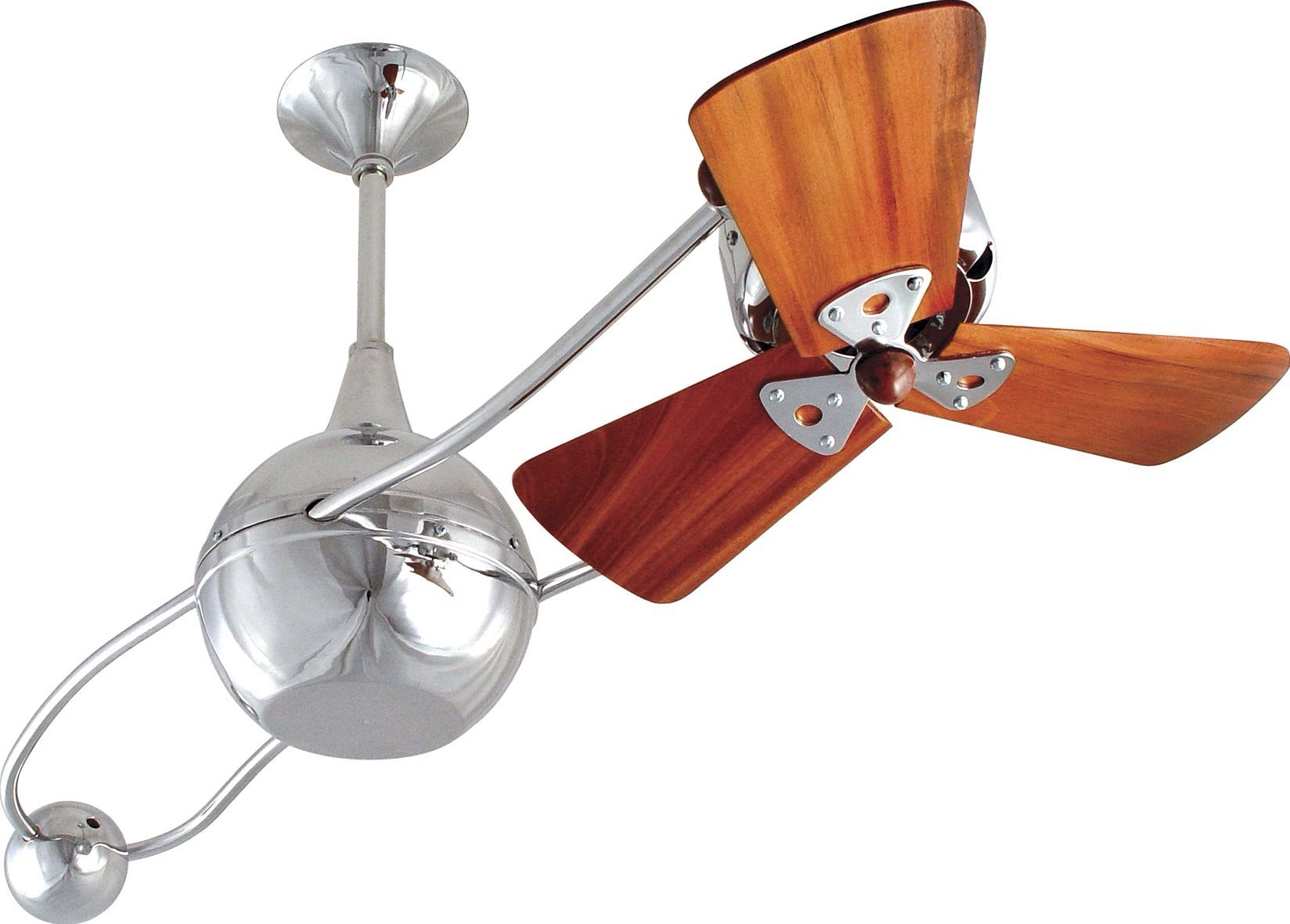 40 Brisa 2000 3 Wooden Blade Rotational Outdoor Ceiling Fan