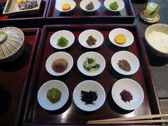 Yuzuya Ryokan breakfast