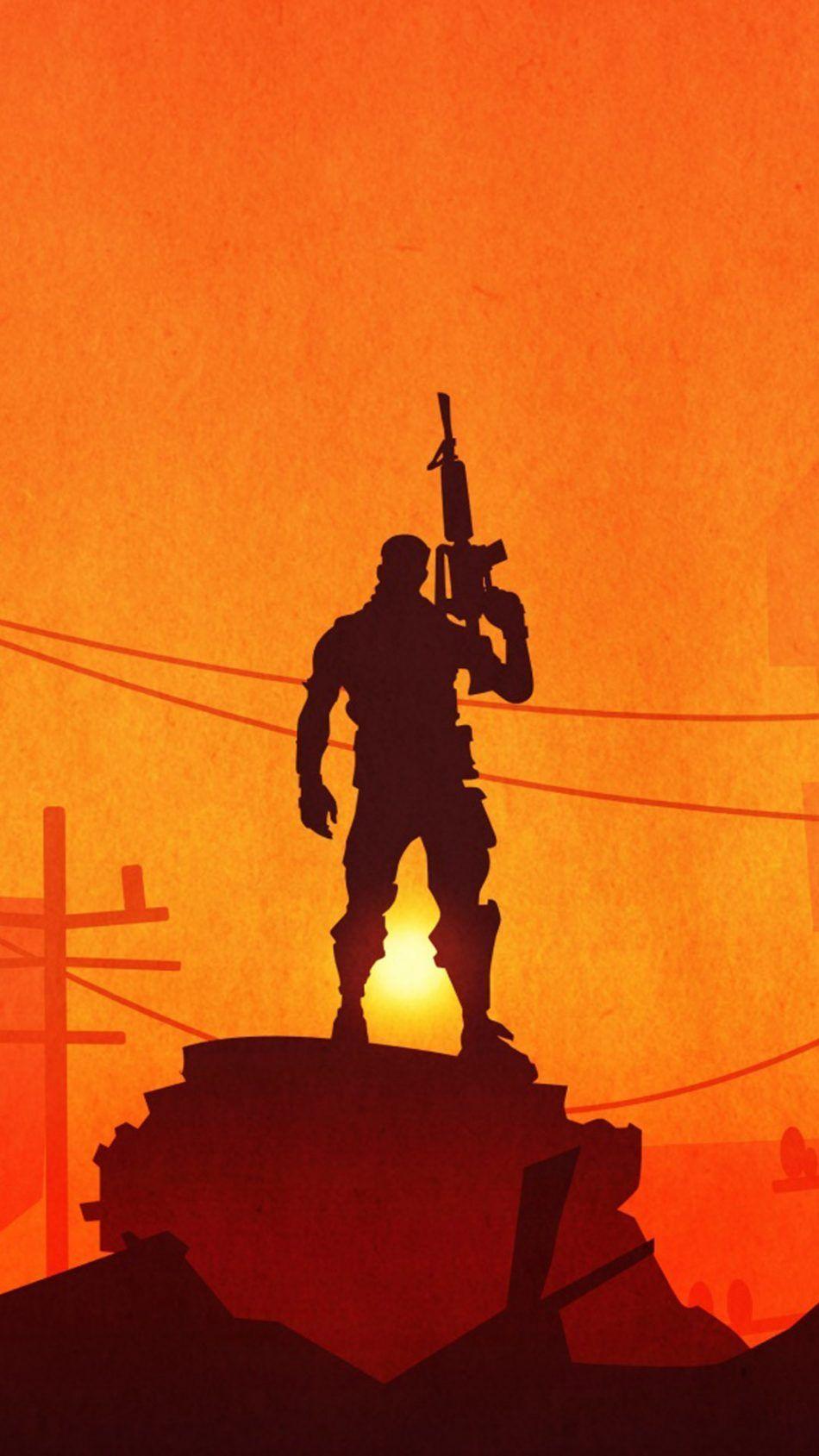 Lone Survivor Fortnite Battle Royale Hd Mobile Wallpaper Fortnite Mobile Wallpaper Phone Wallpaper Best Gaming Wallpapers