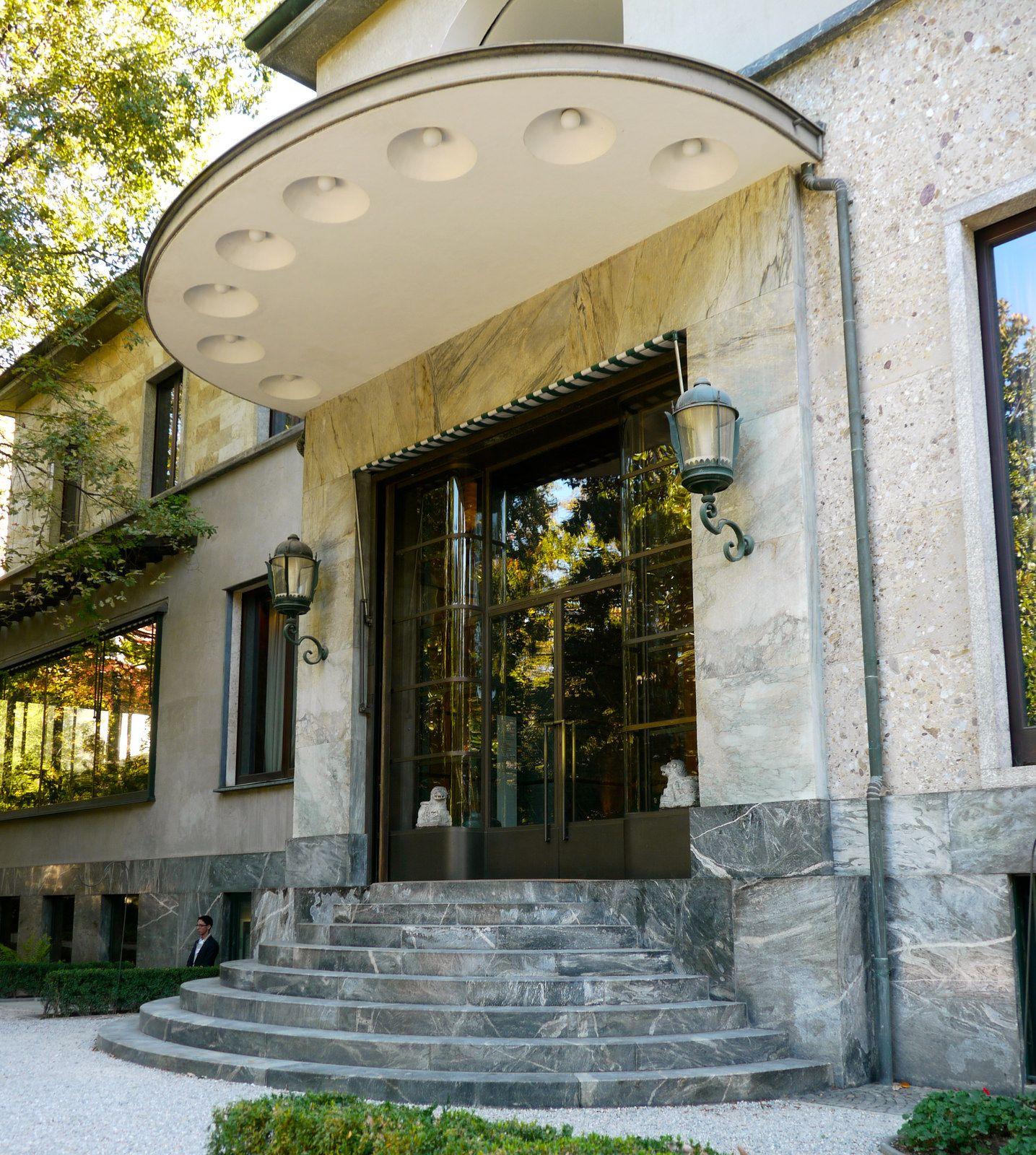 e of my favorite places in Milan last summer Villa Necchi Campiglio Milano Piero Portaluppi 1932 Set of I Am Love with Tilda Swinton