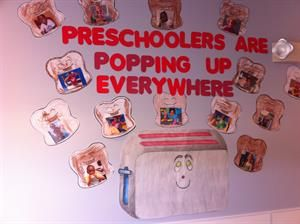 Preschoolers Are Pupping Up Everywhere!