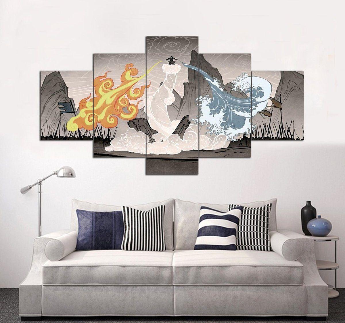 Avatar The Last Airbender Canvas Easy Canvas Art Cool Paintings Diy Canvas Art