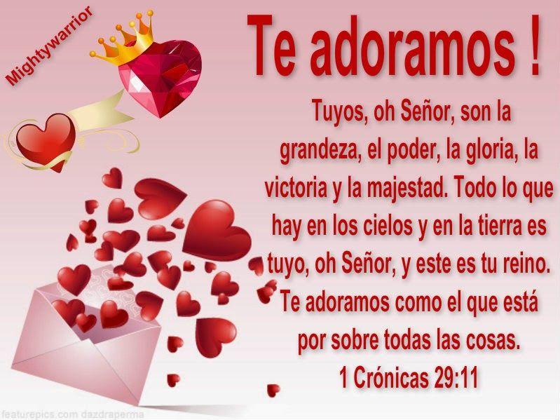 "JESUS PODEROSO GUERRERO: 1 Cronicas 29:11~~~"" TE ADORAMOS """