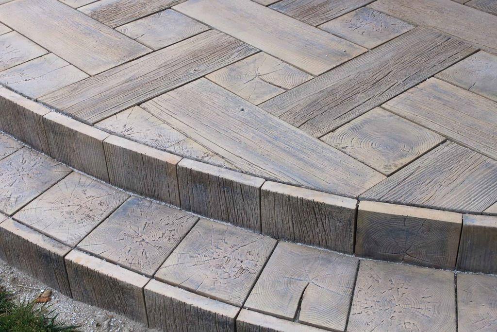 Drewno Betonowe Deska Betonowa Zestaw 75x25 25x25 Hardwood Floors Hardwood Flooring