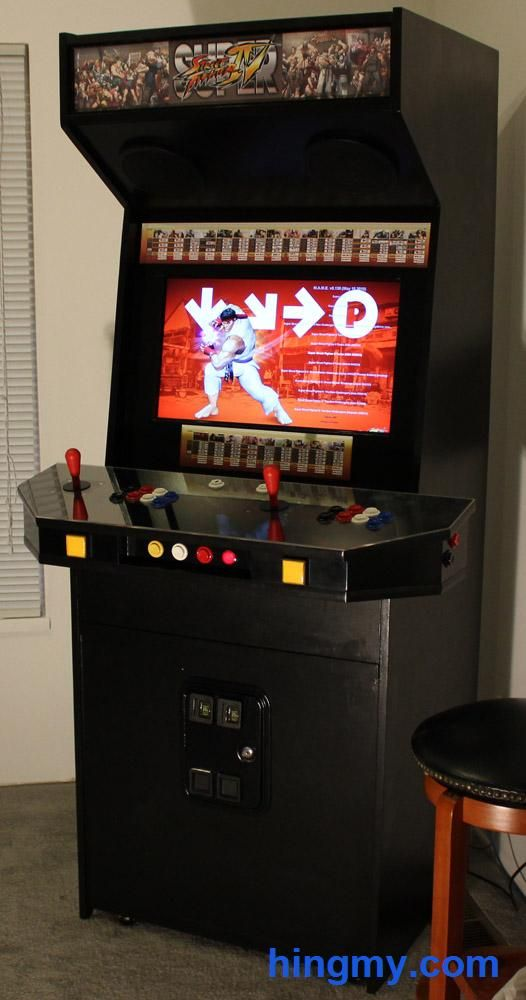 Build your own Arcade cabinet | Arcade cabinet | Pinterest ...