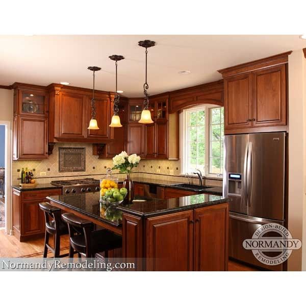 Kitchen Designers Chicago Amusing Kitchen Remodeling Renovation Seems Cherry Not Too Red Is Okay Review