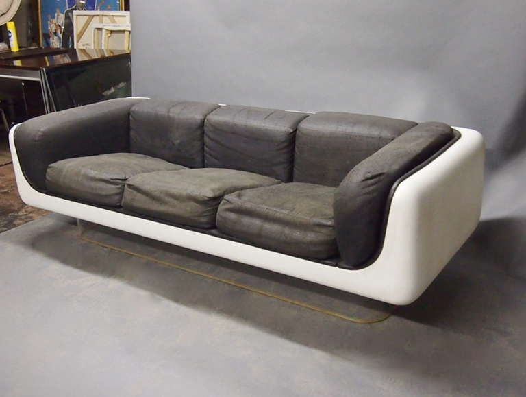 Steelcase Sofa Platner Bed Small Doorway Chair And Coffee Table By Warren For Original C 1960 Usa Image 3