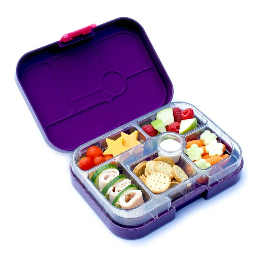 Yumbox In Figue Purple. The Leakproof Bento Lunch Box