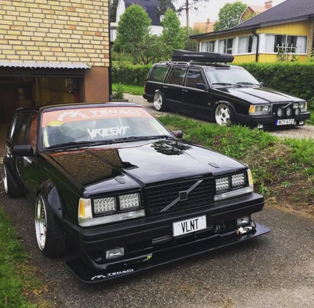 1990 Volvo Wagon For Sale: #Volvo #740_Wagon #Turbo #V8 #Modified #DriftCar
